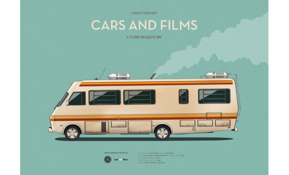 Movie Posters That Place The Focus Where It Belongs: On The Cars