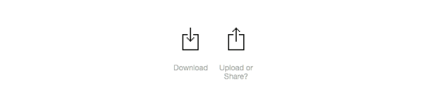 Why Isn't There A Standard Share Icon?