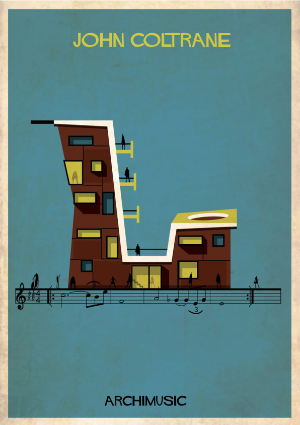 27 Musicians And Their Hits Reimagined As Buildings