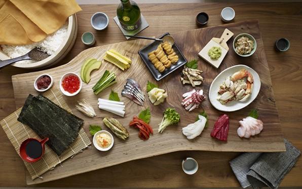 DIY California Rolls: A Visual Guide To Making Sushi
