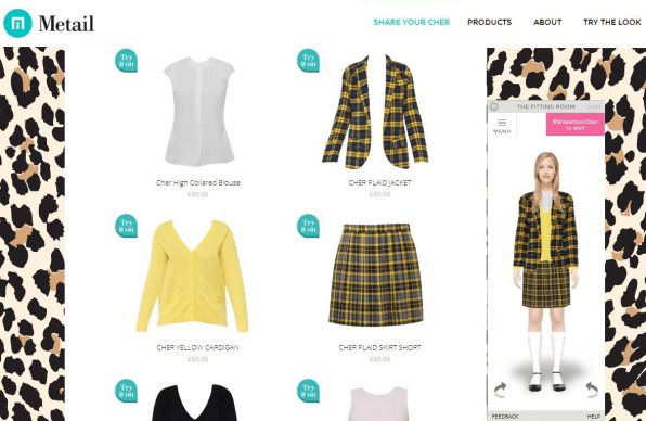 """As If! Startup Tries To Recreate Cher's Virtual Closet In """"Clueless"""""""