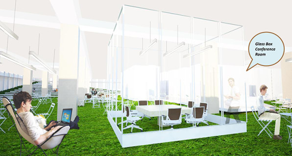 The Office Of The Future Could Be A Park
