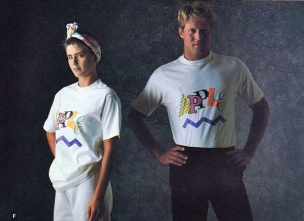 Apple's 1986 Fashion Line Has Become Fashionable For The First Time