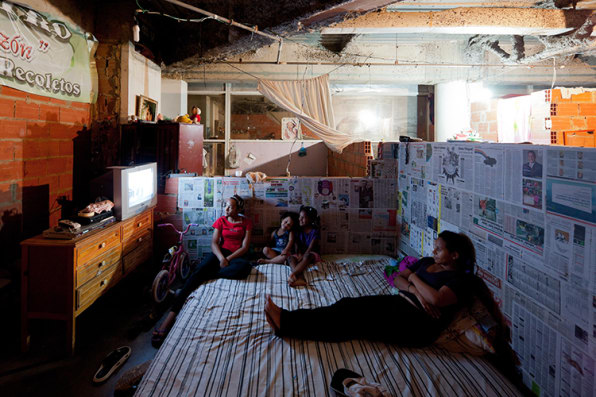 A Peek At Life Inside In The World's Tallest Slum