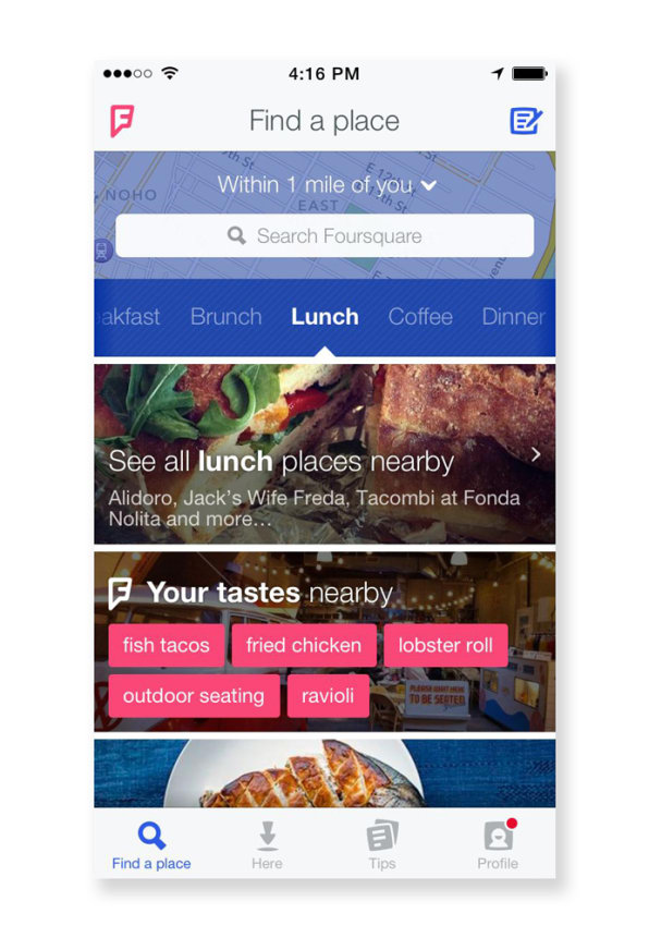 Foursquare's Completely Redesigned App Knows What You Want Before You Do