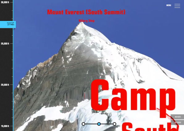 Take This Interactive 3-D Hike Up Mount Everest If You Must, But Please Be Careful