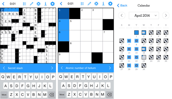 Tiny 2 Minute New York Times Crossword Puzzles For Your Morning Commut