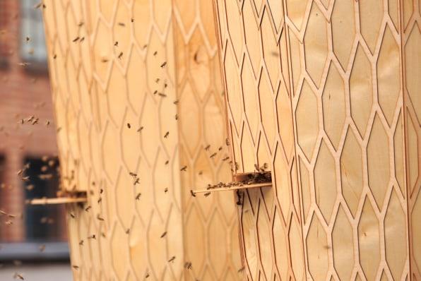 Snøhetta-Designed Hives Make Urban Bee Farming Beautiful