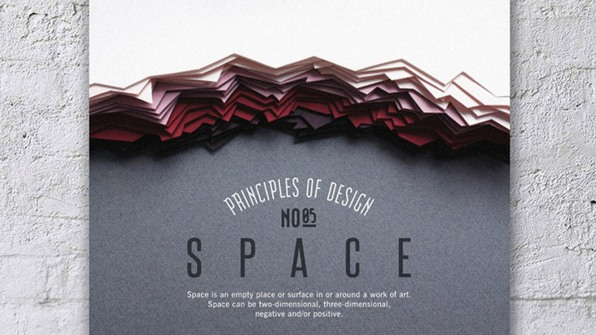 Paper-Art Posters Gorgeously Illustrate Key Design Principles