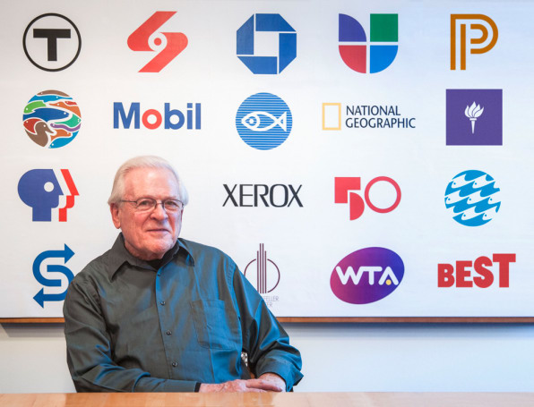 6 Questions For Tom Geismar, Illustrious Designer Of PBS, Xerox, And Mobil Logos