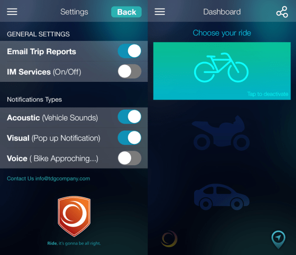This Life-Saving App Will Let Drivers Know When Bikes Are