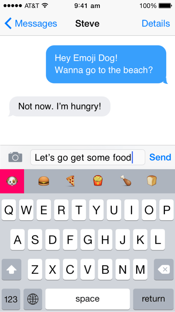 The World's Happiest iOS 8 Keyboard Predicts The Perfect Emoji For You