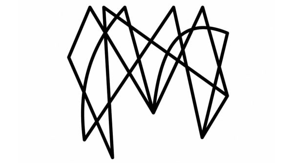 This Logo Is Just A Bunch Of Squiggly Lines And Its Perfect