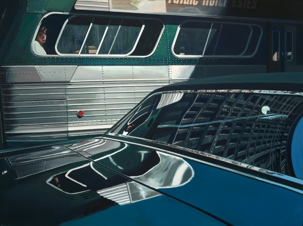Richard Estes's Paintings Appear More Real Than Photographs
