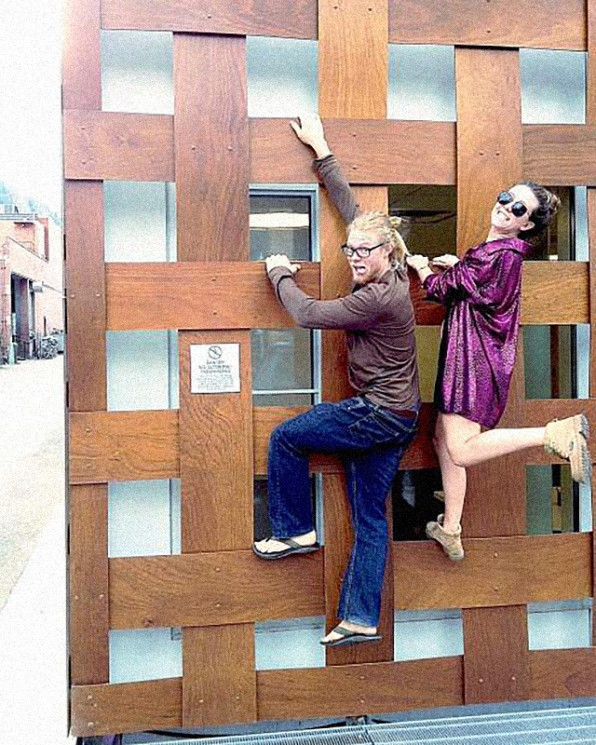 Visitors Fined For Climbing Shigeru Ban's Aspen Art Museum