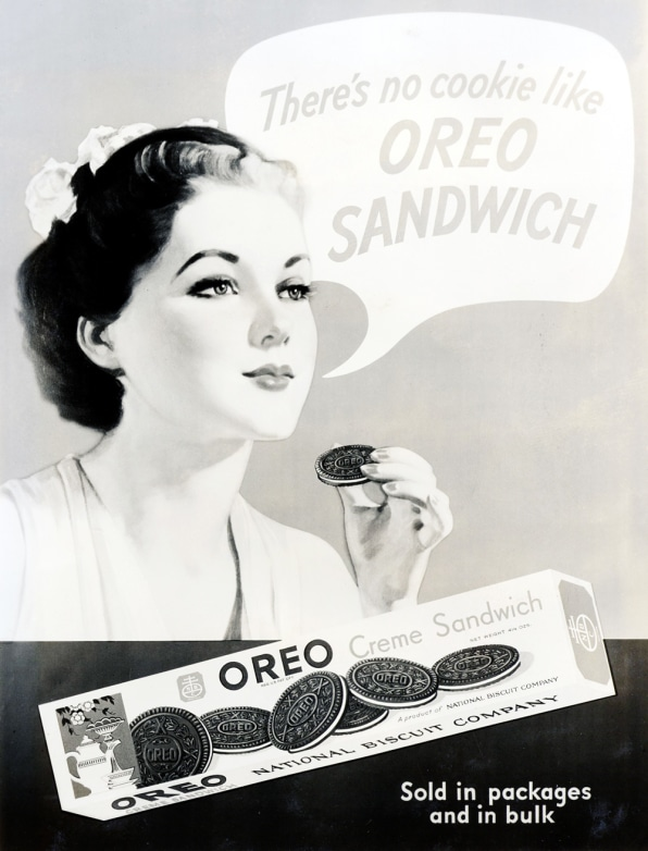 Oreo Advertisement From 1937Photo: Courtesy Of Mondelēz International