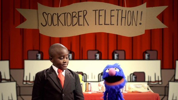 Grover And Kid President Campaign To Warm Up The Lives Of Homeless People
