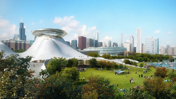 First Look: The George Lucas Museum Is A Pyramid From The Future
