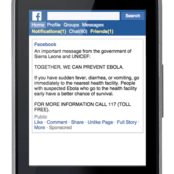 Facebook Is Tracking Africa's Users To Warn Them Of Ebola