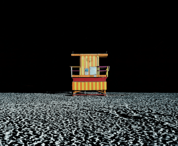 The Psychedelic Lifeguard Stands Of South Beach Are Even Better At Night