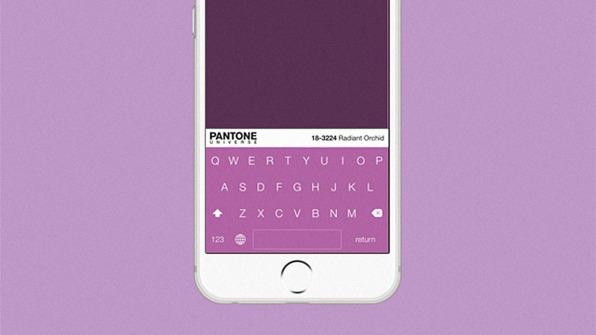 Pantone's iOS Keyboard Is Here. It Is Colorful