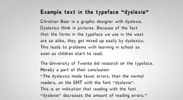 Treating Dyslexia >> A Typeface For Dyslexics Don T Buy Into The Hype