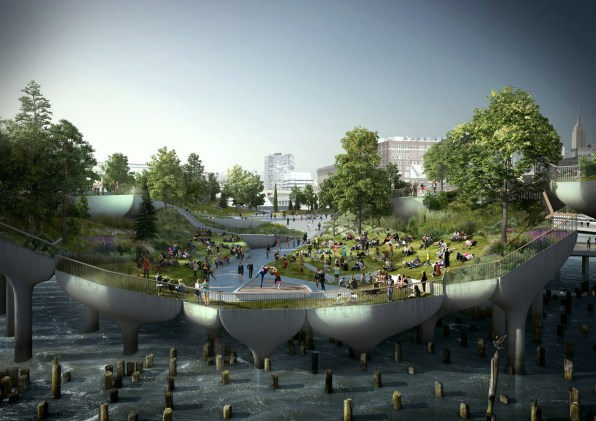 How Decrepit Piers Inspired Thomas Heatherwick's Vision For A Floating Park
