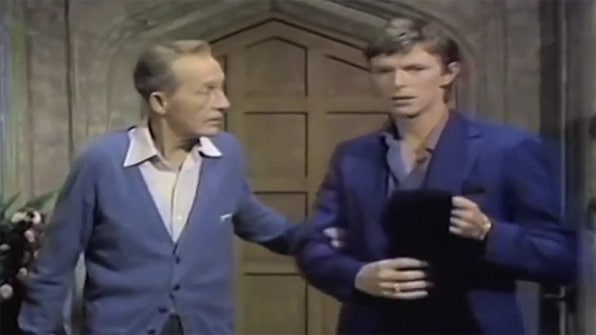 david bowie and bing crosby christmas song