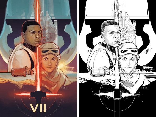 Comic Book Illustration With Phil Noto