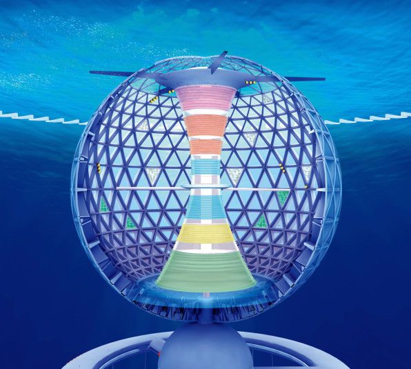 Look At The Crazy Designs For The World's First Underwater City