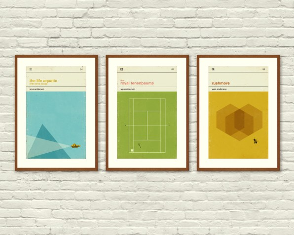 Posters Of Wes Anderson Films Out-Twee Wes Anderson Films