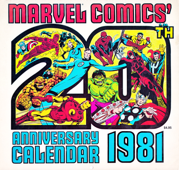 Marvel Comics Released The Best Calendar for 2015 Way Back In 1981
