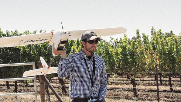Don't Worry: Drones Are Making Sure You'll Never Have To Go Without Wine