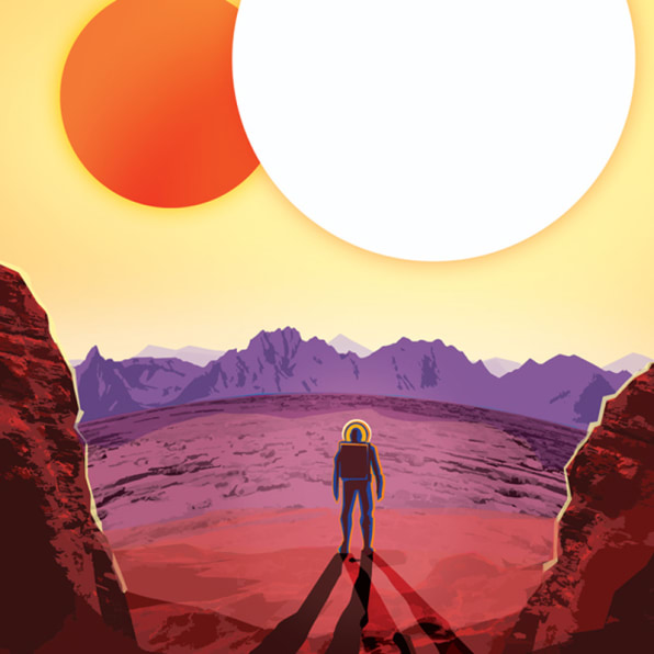 NASA Designs Retro Travel Posters For Exoplanets