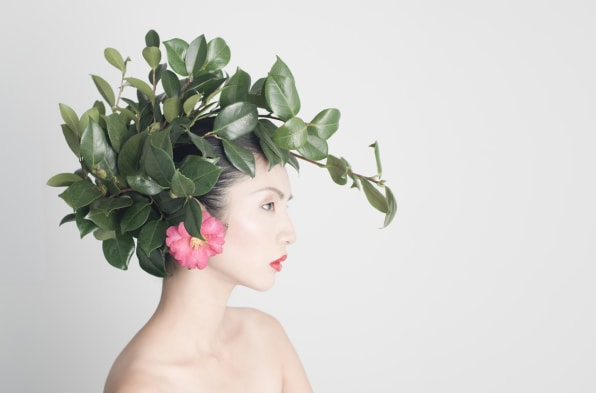 Flowers And Taxidermy Arranged Into Gorgeous Headdresses