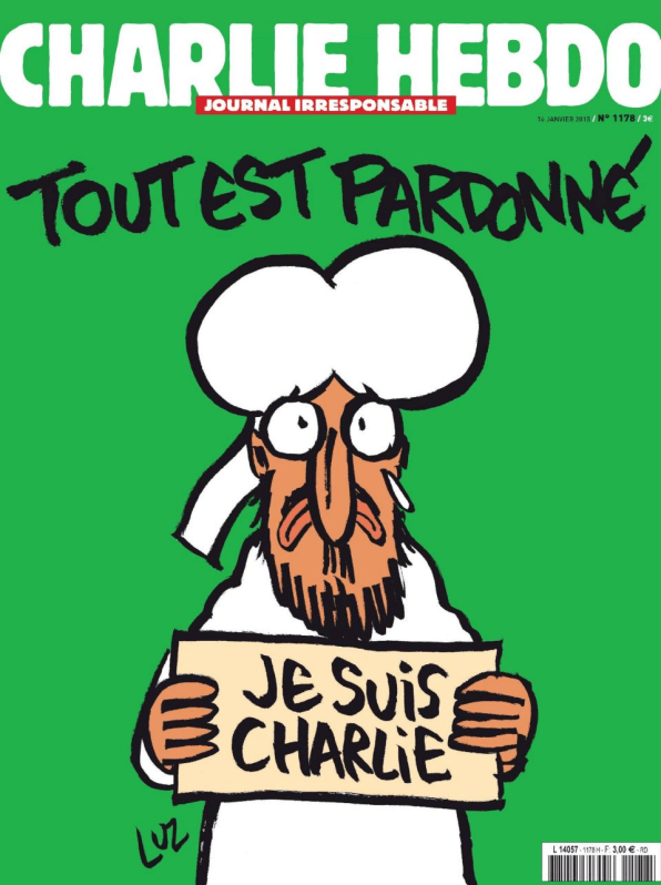 Charlie Hebdo Returns With The Prophet Muhammad On Its Cover