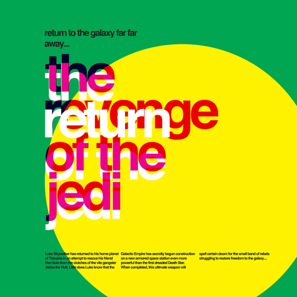 """""""Star Wars"""" Might Be Even Cooler In Helvetica"""