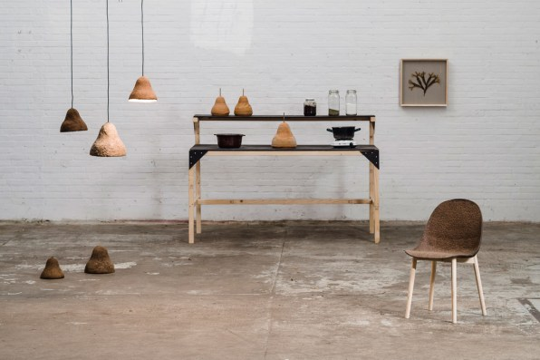 This Furniture Is Made From Seaweed And Paper