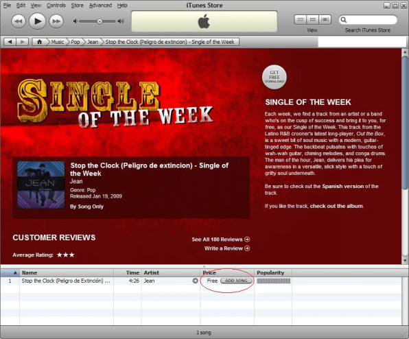 "Apple Stops Free ""Single Of The Week"" Promotion, Music Libraries Stop"