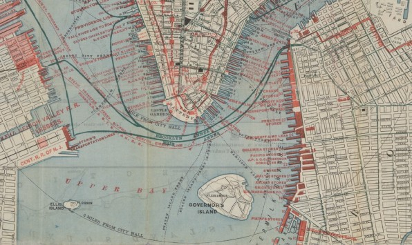 The New York Public Library Is Using Old Maps To Create A Time Machine - The old map company