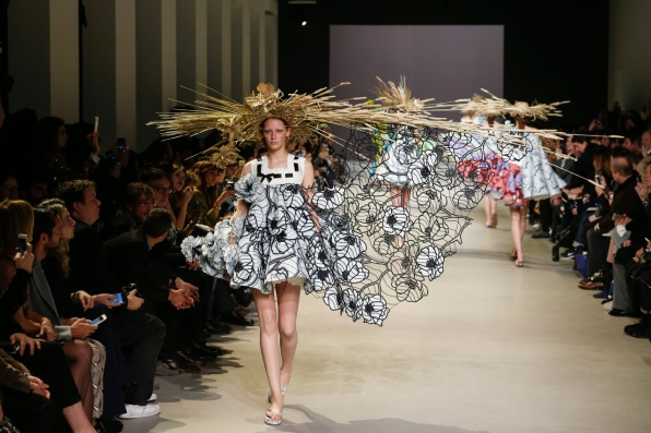 Van Gogh Paintings Turned Into Haute Couture