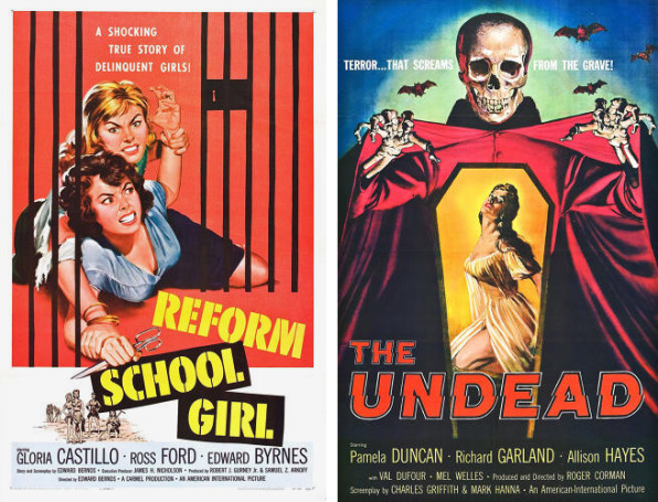 """When """"The Brain Eaters"""" Weren't Kardashians: """"Classic"""" Exploitation Movies Get A Reboot, And Chilling Posters"""