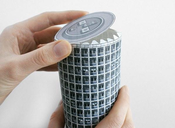 Brutalist Buildings Turned Into Papercraft Models