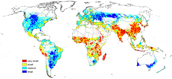 The most detailed map of the worlds cropland shows where theres room these are not easy things to do but these maps show where we might look to start to increase food production they show existing cropland and how intensely gumiabroncs Images