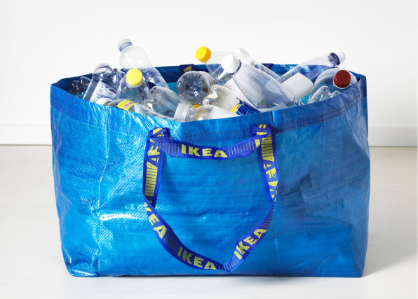 A Fetching Redesign Of Ikea's Blue Tote Bag