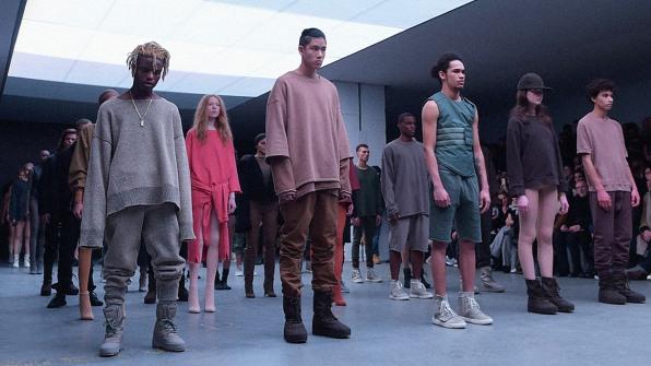 Kanye West's Fashion Line Looks Like