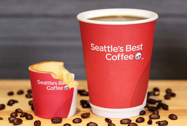You Can Eat KFC's New Coffee Cup