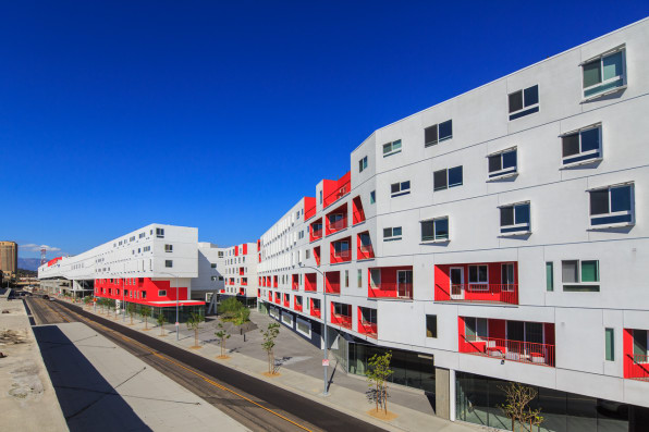 L.A.'s Longest Building Fits An Entire Neighborhood Under One Roof