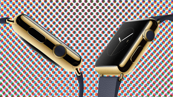 The Predictably Insane Industrial Design Of The Gold Apple Watch