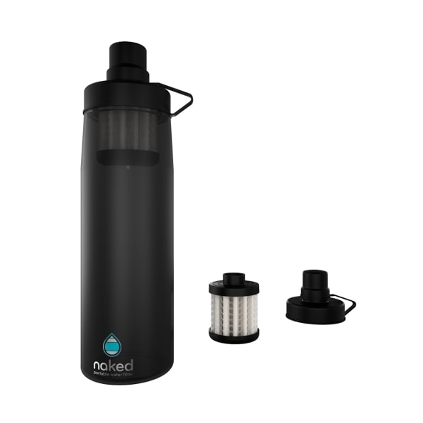This Nanotech Bottle Instantly Purifies Dirty Water
